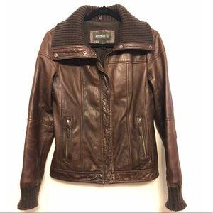 Eddie Bauer Leather Jacker